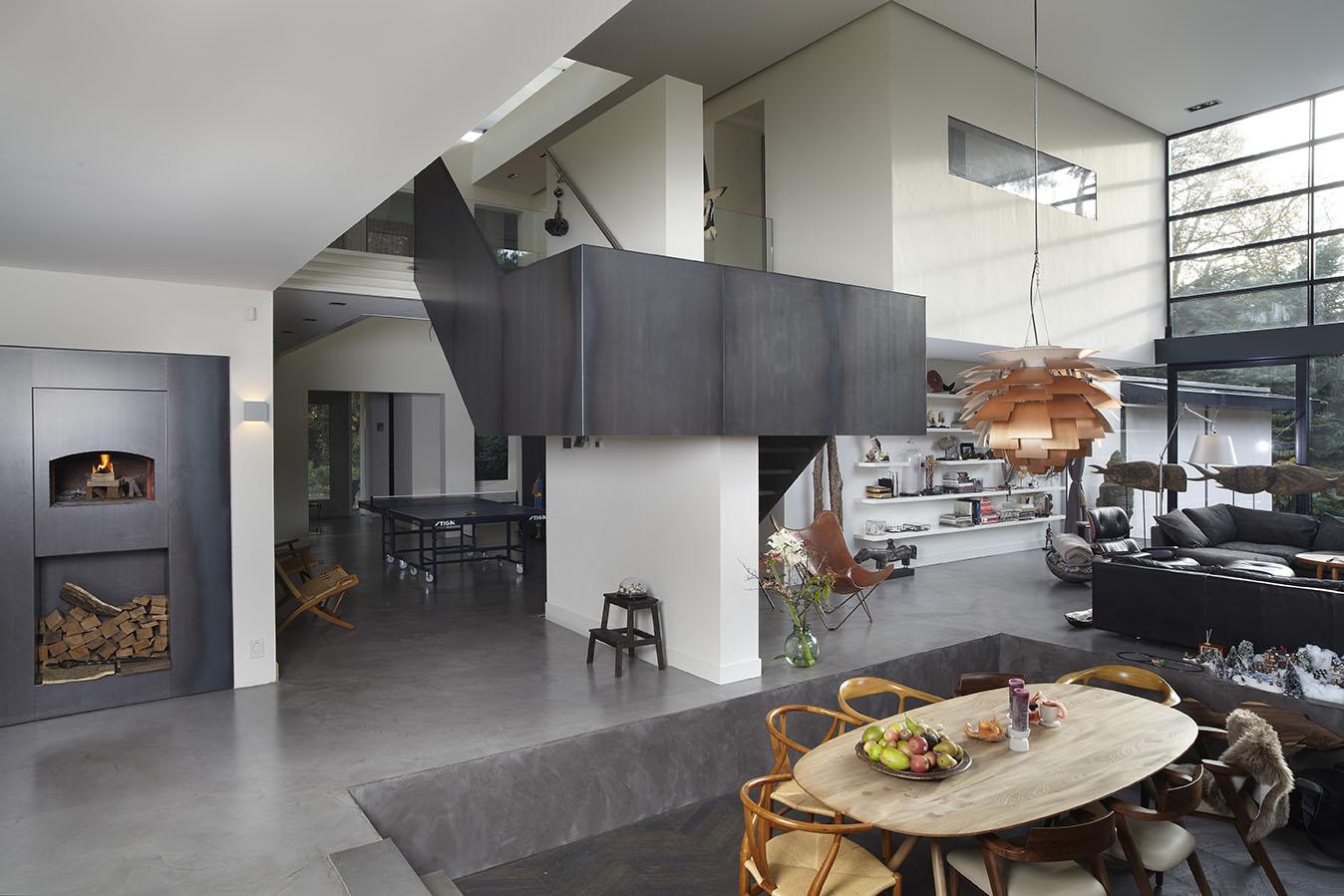 Keuken met trap - Open keuken op verblijf ...